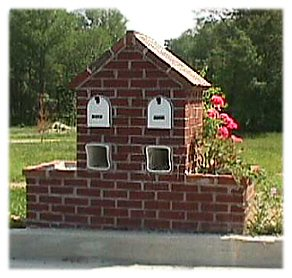 double mailbox designs cedar brick mailbox with flower box plan to build your own mailbox build