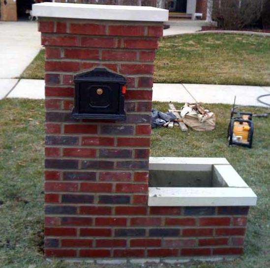 How to build a brick mailbox | Build a mailbox